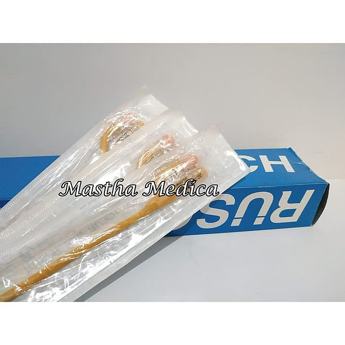 Latex Foley Catheter Kateter Selang Kencing Urine 2 Way 16 FR/CH RUSCH